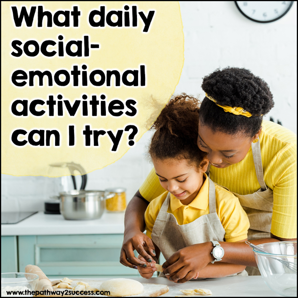 Daily SEL activities for parents to try at home.