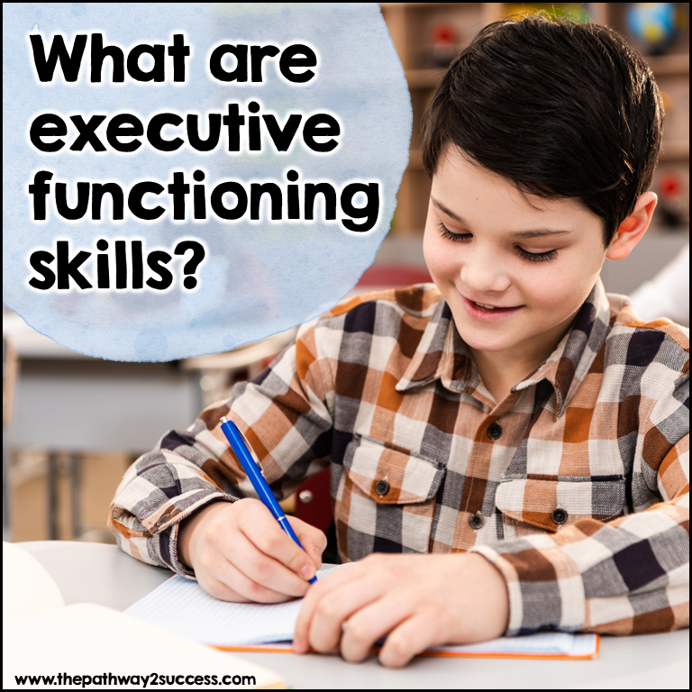 What are executive functioning skills? for parents