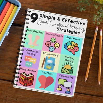 Social emotional learning strategies toolkit free for website subscribers
