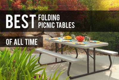 Best Folding Picnic Table Bench