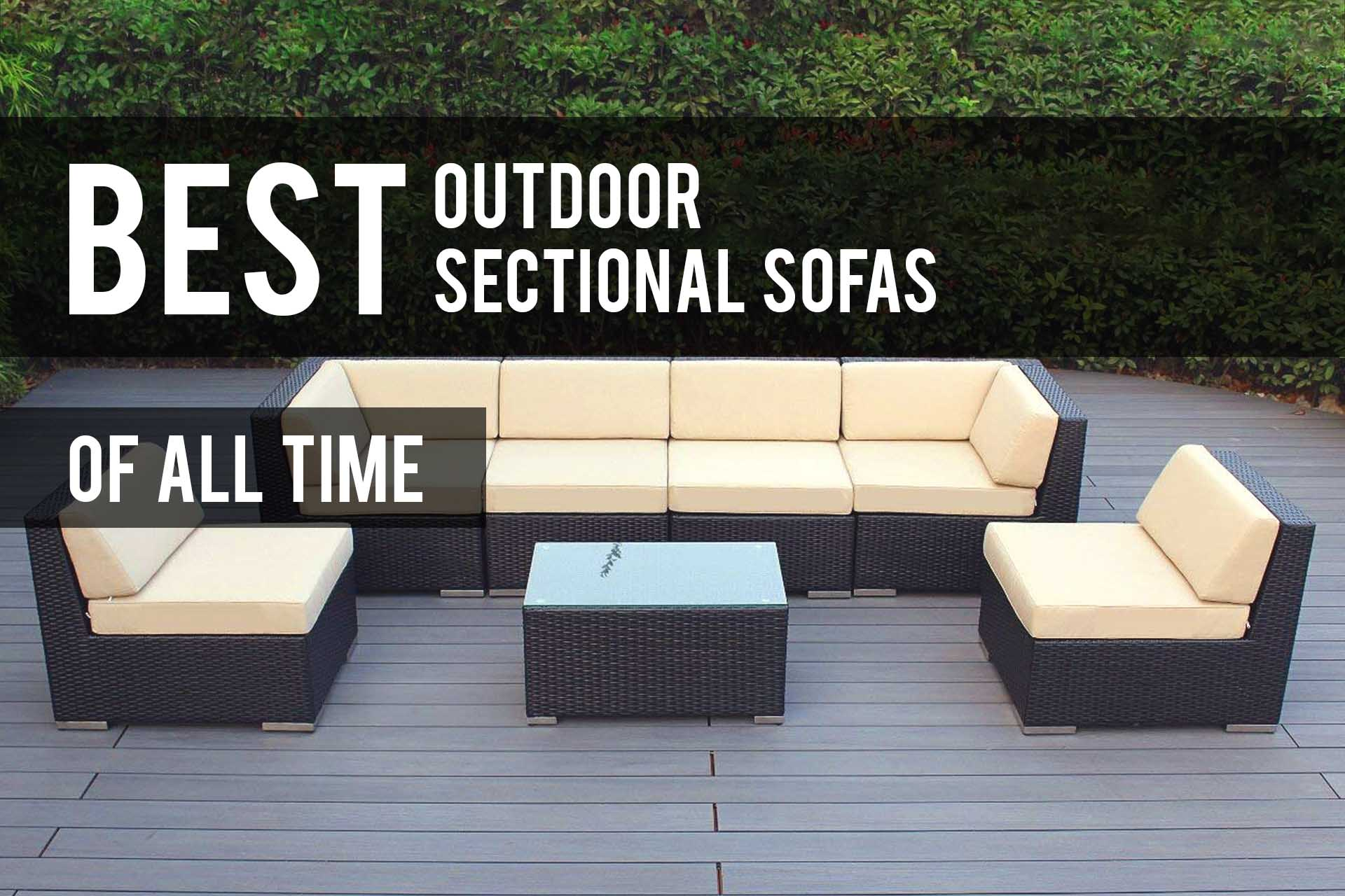 Best Outdoor Sectional Sofa Sets 2019 (Reviews) - The Patio Pro