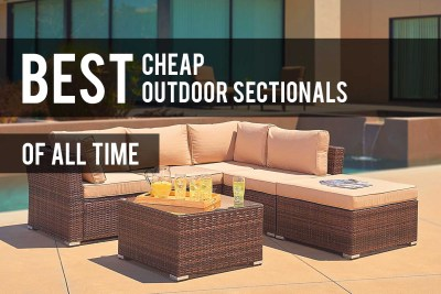 Cheap Outdoor Sectionals
