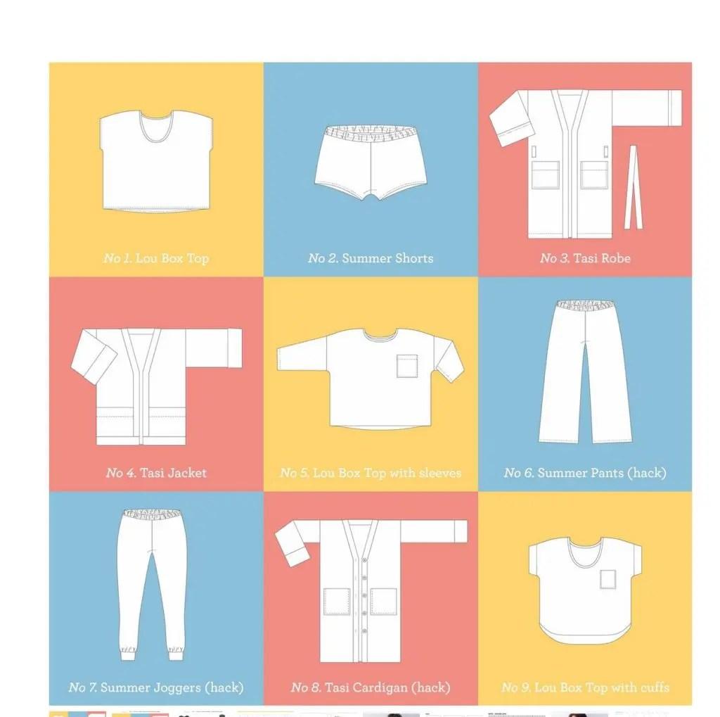 Work From Wardrobe Bundle From Sew Diy