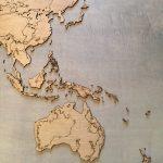 3d Topographic Laser Cut Wall Map Thepaullingworkshop