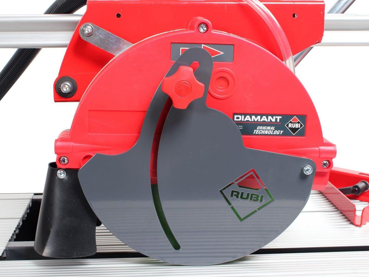 rubi dc 250 1200 wet cut bridge saw electric tile cutter 110v weekly hire