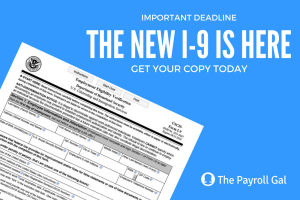The New I-9 is Here. Get Your Copy