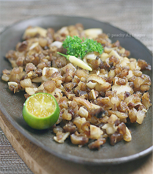 Pork Sisig For Kcc The Peach Kitchen