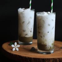 Iced Coconut Matcha Latte