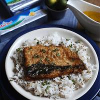 Crispy Bangus with Calamansi Butter Sauce