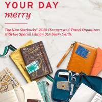 The 2019 Starbucks Planner and Travel Organizer