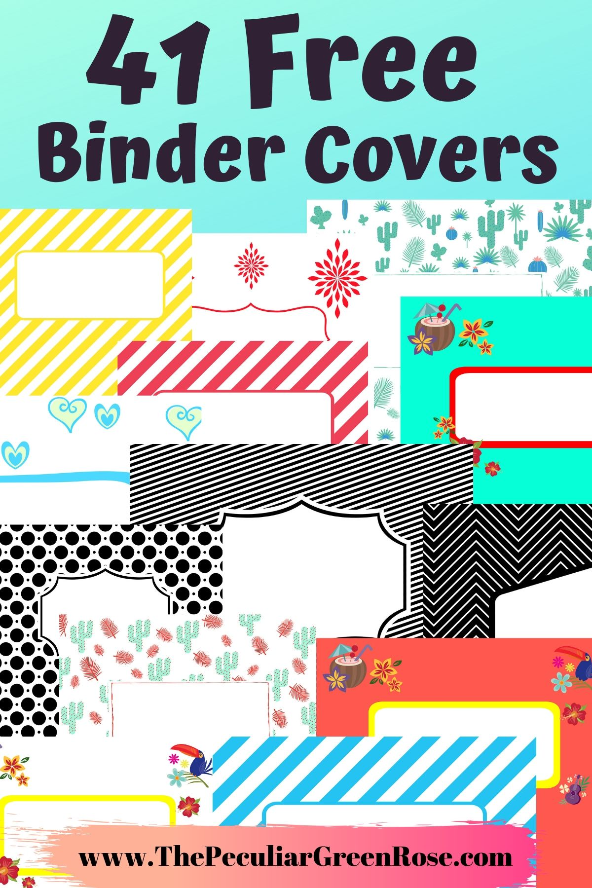 It is an image of Printable Binder Cover Templates throughout free printable