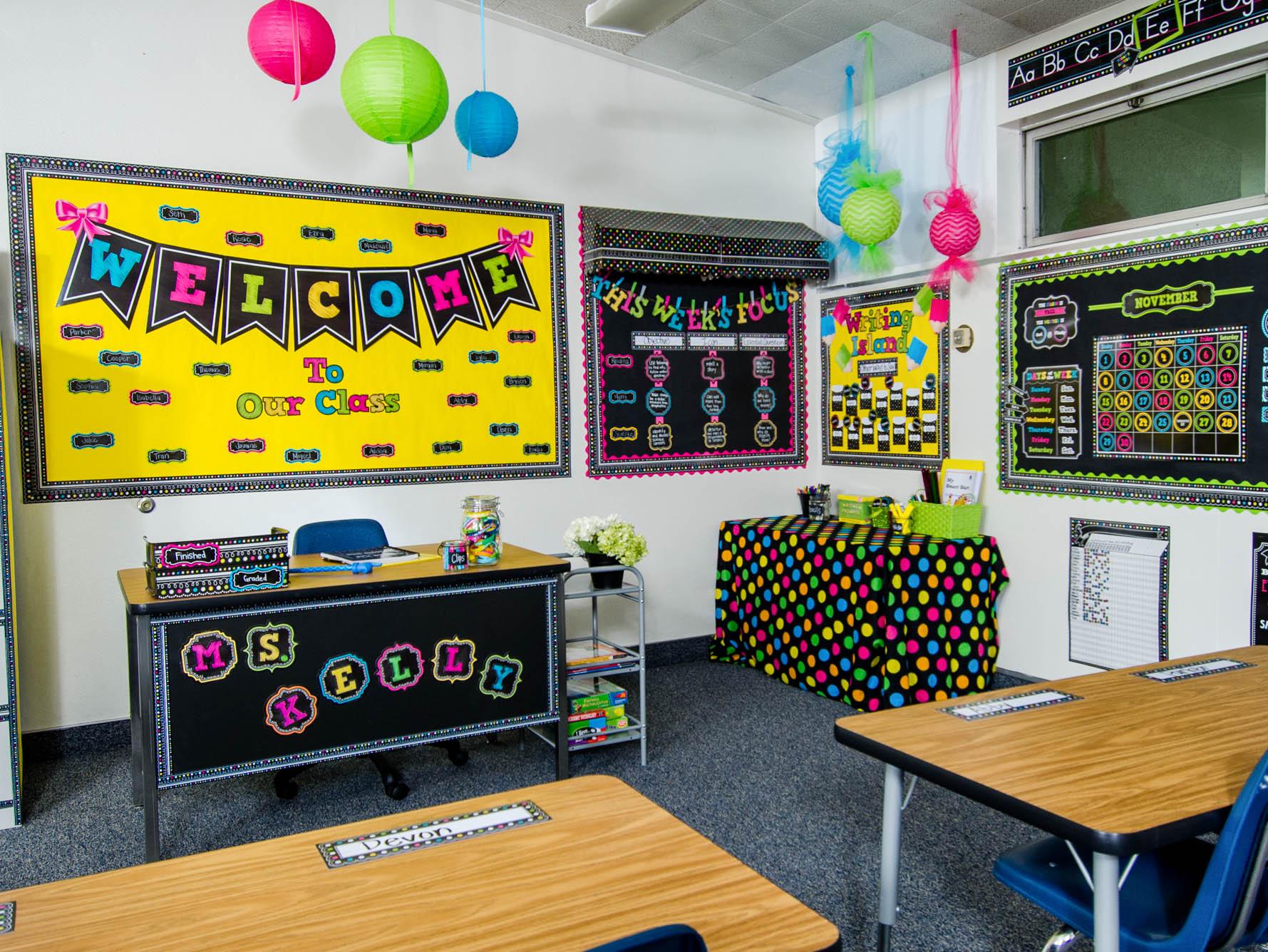 Colorful Classrooms | The PediaBlog