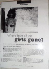 Where have all the girls gone?