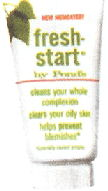 Freshstart clears your oily skin as it helps prevent blemeshes