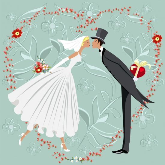 """""""You may kiss the bride...."""" The dilemma of writing your own vows is in this week's story selection."""