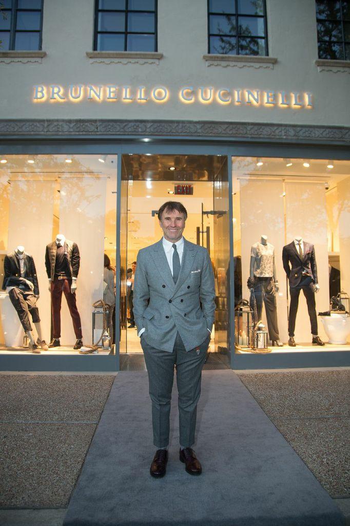 Brunello Cucinelli Highland Park Village Opening