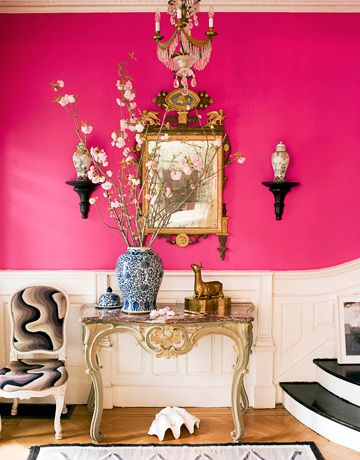 Magenta Living Room Ideas
