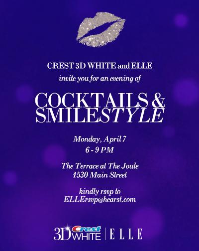 ELLE & Crest Event Invite