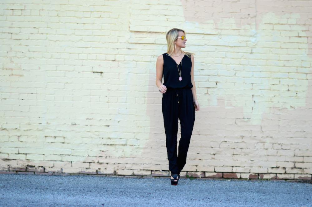 Janie Black Jumpsuit