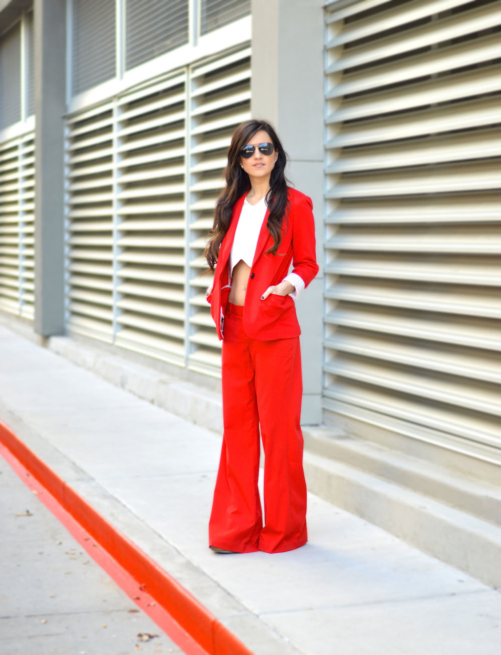 Express Red Suit