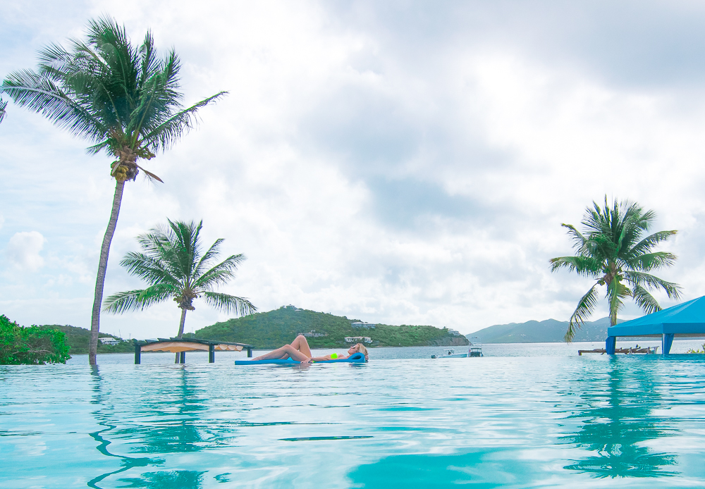 Ritz Carlton St Thomas Infinity Pool
