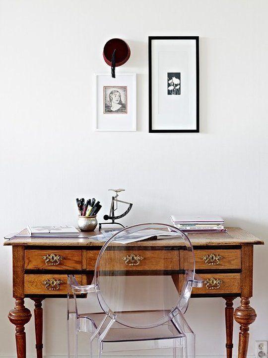 antique-desk-lucite-chair