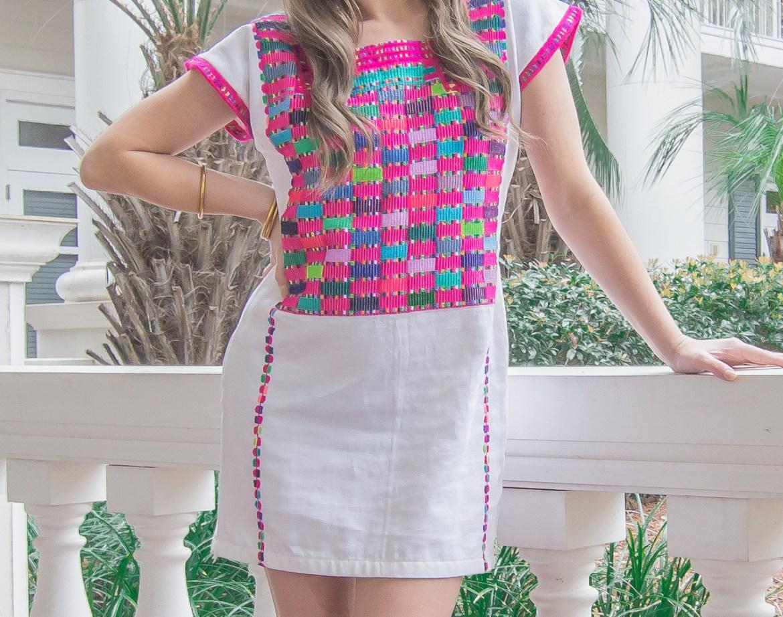 Pink Santa Marguerite Dress (1 of 13)