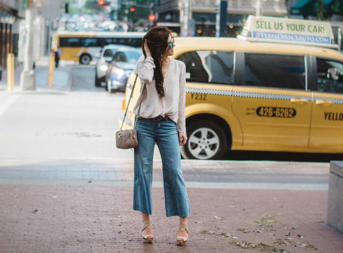 How To Wear Cropped Denim