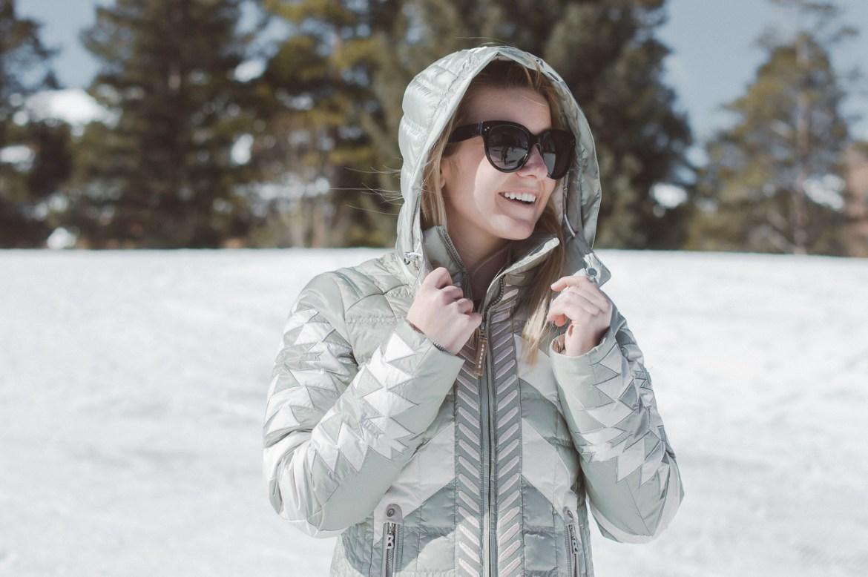 trendy ski clothes