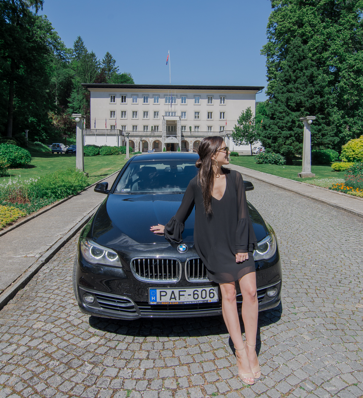 Vila Bled Hotel Sixt BMW 5 Series