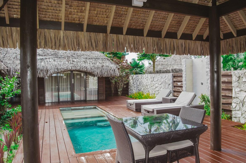 Hotel Kia Ora Rangiroa French Polynesia Pool Villa
