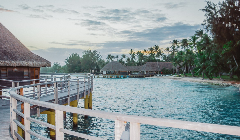 Hotel Kia Ora Rangiroa French Polynesia Sunset