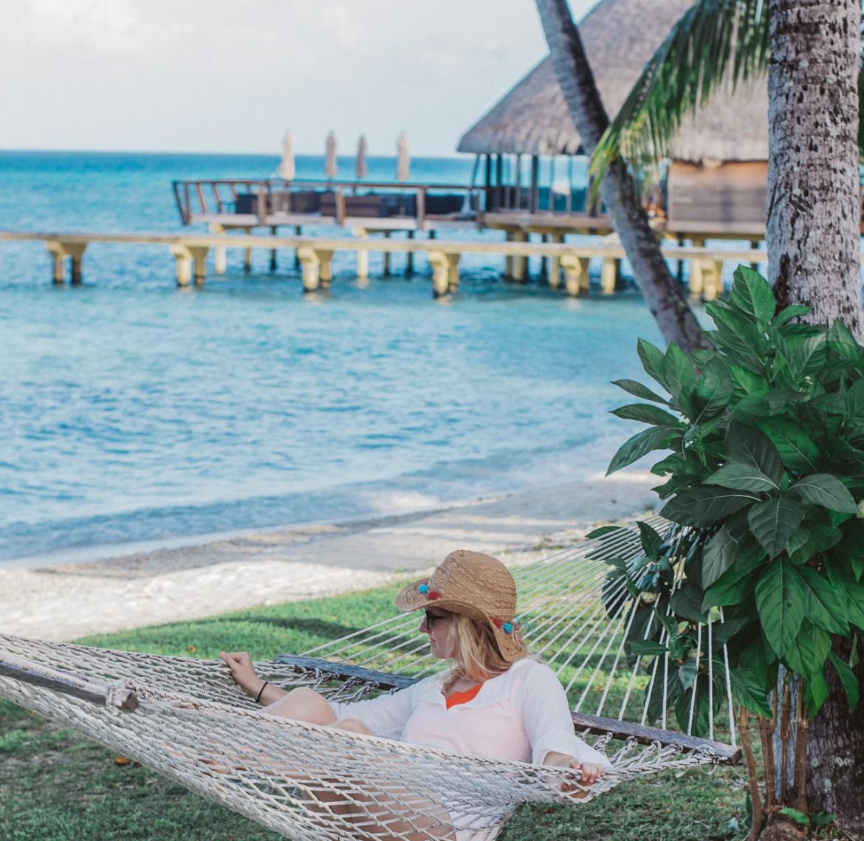 Hotel Kia Ora Rangiroa French Polynesia Hammock