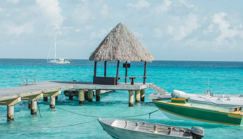 Hotel Kia Ora Rangiroa French Polynesia Boats