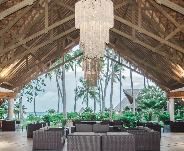 Hotel Kia Ora Rangiroa French Polynesia Lobby