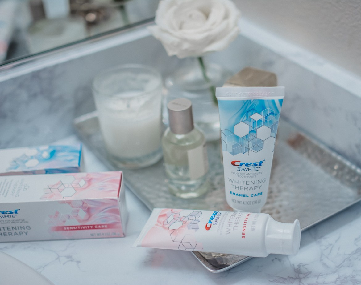 Crest 3D White Whitening Therapy Toothpaste Collection
