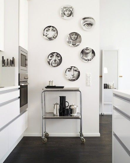 How To Decorate With Fornasetti Plates