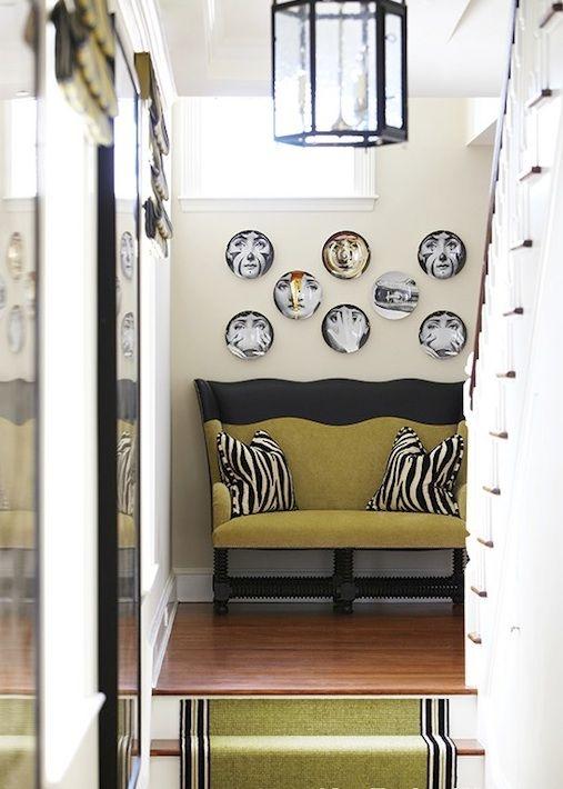 Fornasetti Plate Home Decor