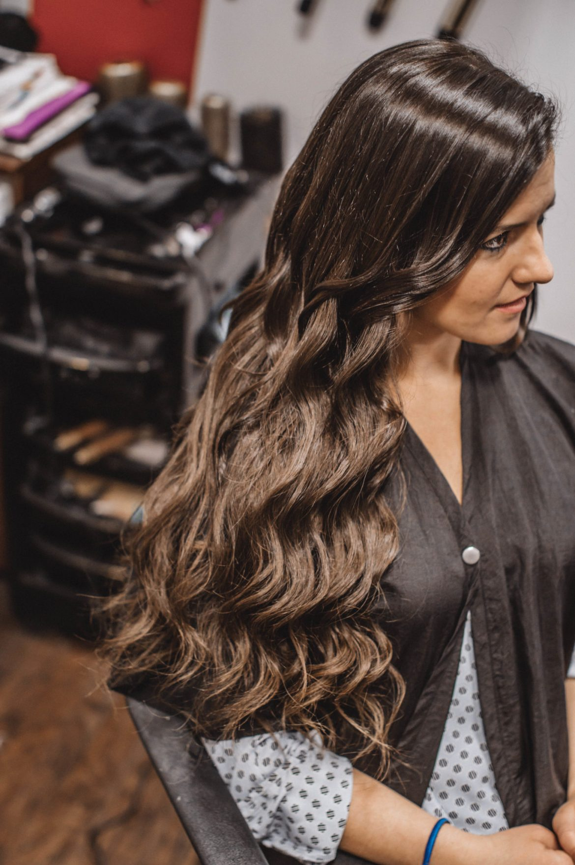 What To Know About Tape In Hair Extensions Before After The