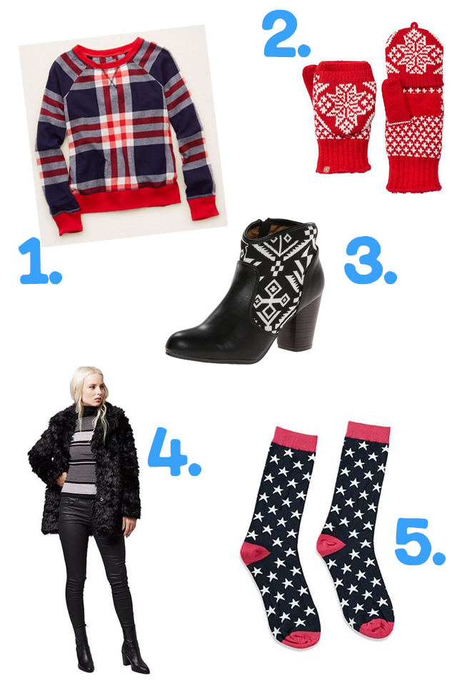 Hannah's Winter Clothing Essentials