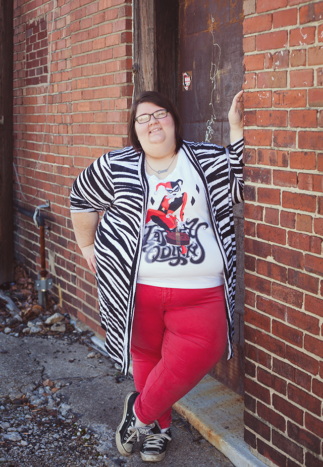 Wearable Wednesday: Harley Quinn