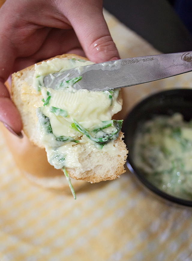 Cheesy Herb Butter