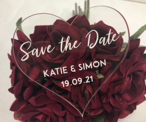 Clear Save the Date