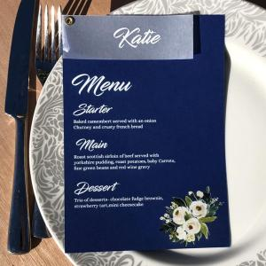 Menu & Vellum Place Name