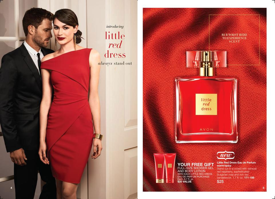 Avon Little Red Dress Avon Little Red Dress Perfume Notes Ads Fragrance Guide