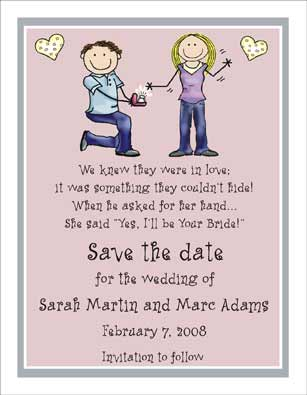 Wedding Ring Personalized Party Invitations By The Personal