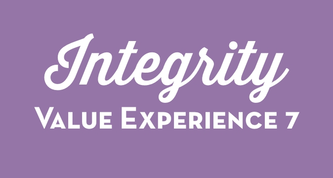 Integrity Value Experience 7