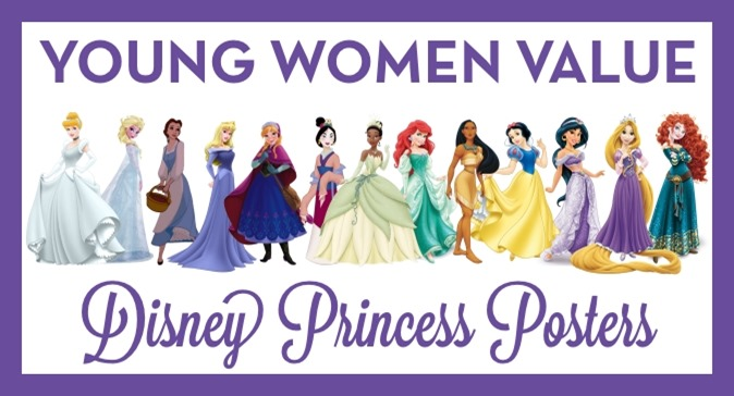 Young Women's Values with Disney Princesses: The Sequel!