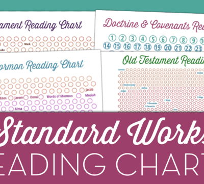 Standard Works Scripture Reading Charts