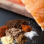 Chocolate Chipotle Salmon Rub